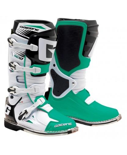 SG 10 BOOT WHITE/GREEN