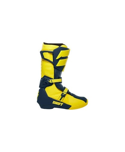 SHIFT WHIT3 LABEL BOOT - navy/yellow