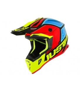 Just1 J38 Blade Black-Yellow-Red-Blue XS