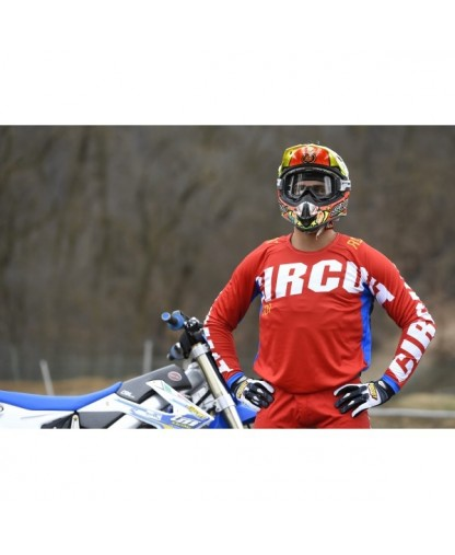 CIRCUIT OCEAN JERSEY RED/BLUE/WHITE