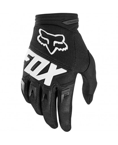 YOUTH DIRTPAW GLOVE RACE RACE BLK