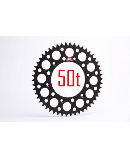 RENTHAL REAR SPROCKET 50T KTM BLACK