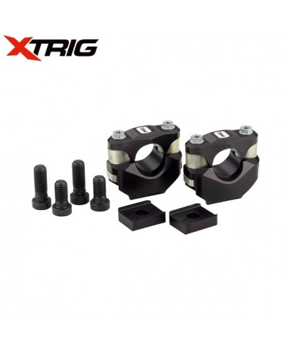Xtrig PHDS Rubber Bar Mount Kit M12 (Optional Sizes) Xtrig Clamp Fitment