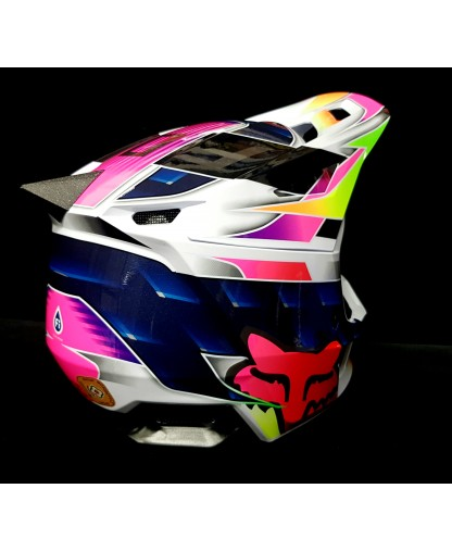 FACTORY FINS CUSTOM (FOX V1 & V2 HELMETS)