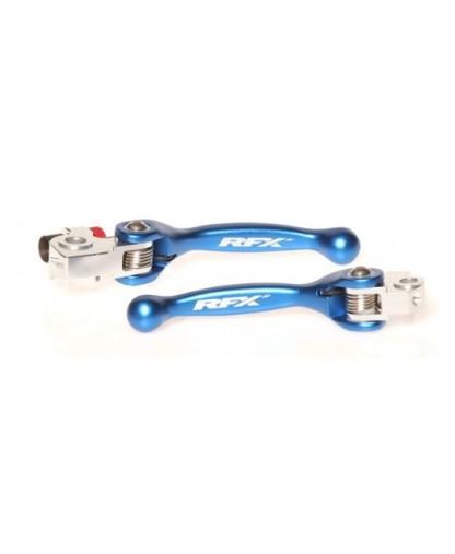 RFX Race Forged Flexible Lever Set (Blue) TM 125/250/250FI/450FI 10-18