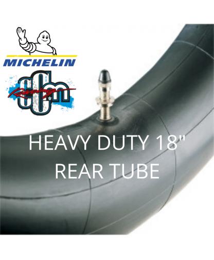 """MICHELIN HEAVY DUTY 18"""" REAR TUBE"""