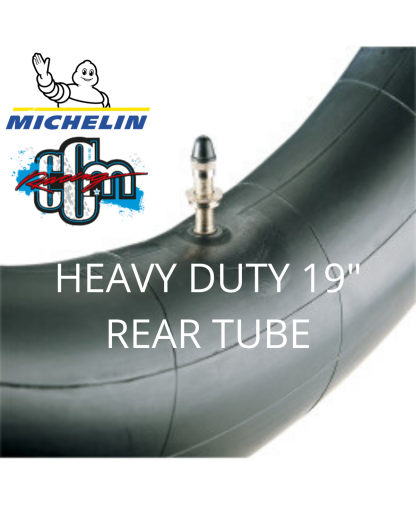 """MICHELIN HEAVY DUTY 19"""" REAR TUBE"""