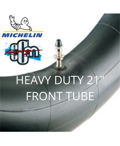 "MICHELIN HEAVY DUTY 21"" FRONT TUBE"