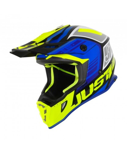 JUST 1 - J38 BLADE BLUE / FLUO YELLOW / BLACK GLOSS