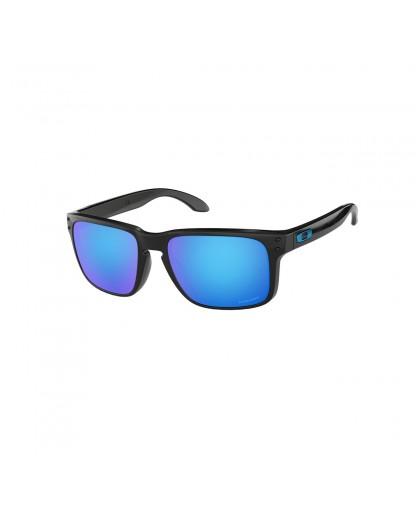 Oakley Holbrook Sunglasses Adult (Polished Black) Prizm Sapphire Lens