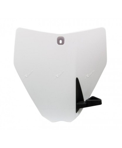 RACETECH HUSQVARNA FRONT NUMBER PANEL WHITE