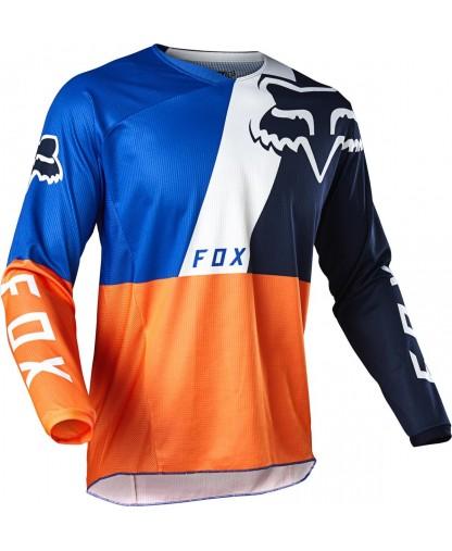 FOX 180 LOVL JERSEY ORG/BLUE