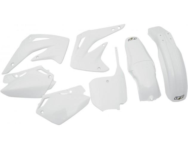 UFO Plastics Front Fender White for Honda CR CRF 125 250R 450R