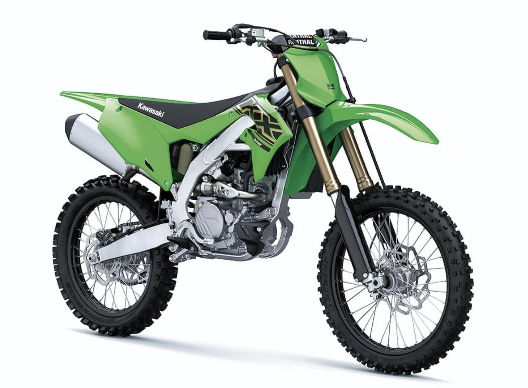 Ny Kawasaki KXF 250 2021 til salg - 123mc