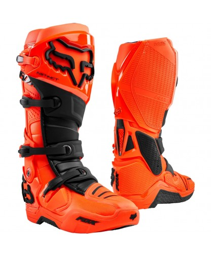 FOX INSTINCT BOOT FLO ORNG