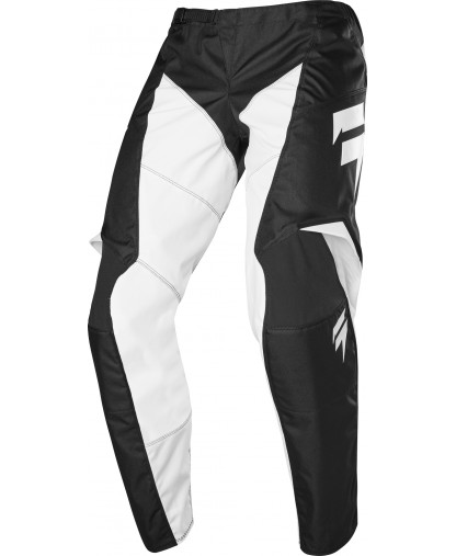 YOUTH WHIT3 LABEL RACE PANT BLACK/WHITE