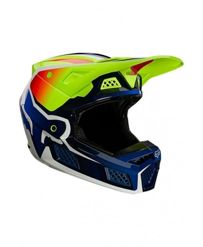 V3 RS WIRED HELMET, ECE  YELLOW