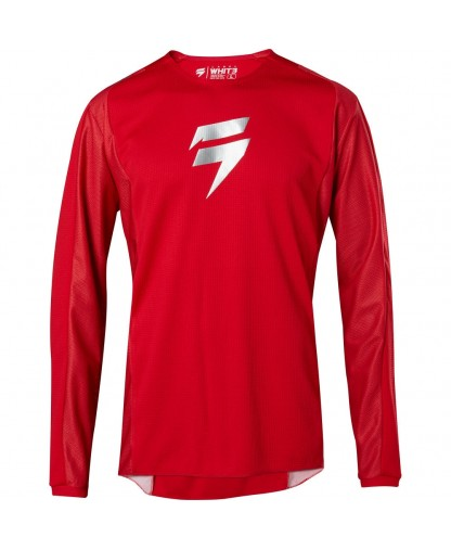 WHIT3 LABEL BLOODLINE JERSEY LE (RED)