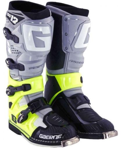 GAERNE SG-12 GREY/FLO-YLW/BLK