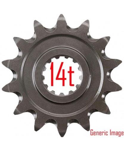 RENTHAL SPROCKET FRONT GROOVED CR85 86-ON 14T