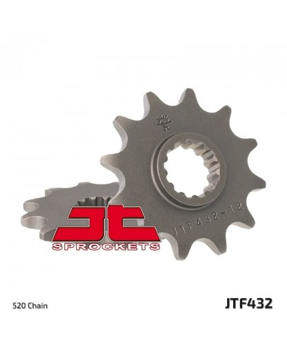 JTF565.14SC FRONT SELF CLEANING SPROCKET / 14 TEETH / 520 PITCH / NATURAL / STEEL