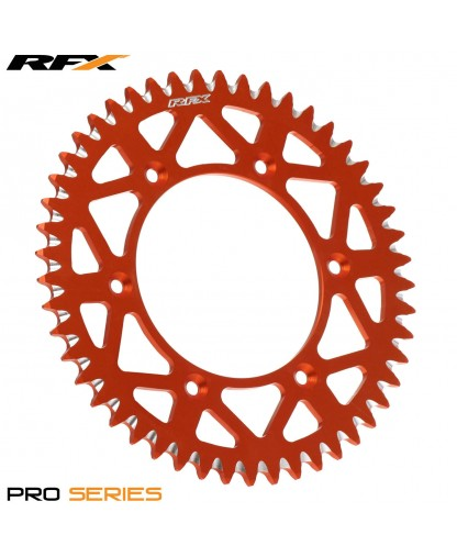 RFX PRO SERIES REAR SPROCKET KTM SX/EXC SXF/EXCF 125-530 91-17 (ORANGE)