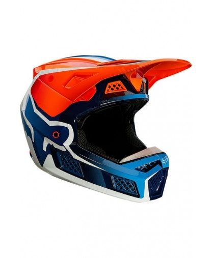 V3 RS WIRED HELMET, ECE FLO ORNG