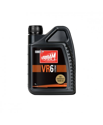 VROOAM VR6 FULLY SYNTHETIC TWO STROKE OIL