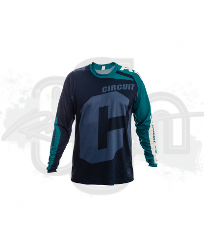 Circuit Equipment Jersey 2021 NVY/TEAL