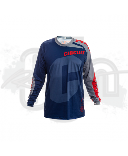 Circuit Equipment Jersey 2021 NVY/RD/GRY