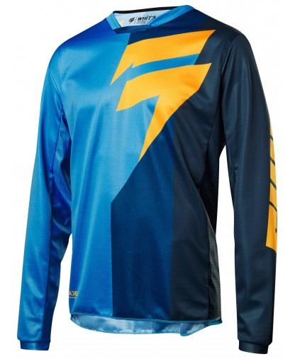 SHIFT WHIT3 TARMAC JERSEY - BLUE