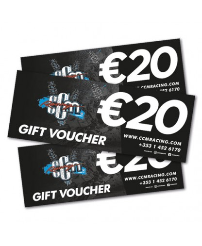 €20 CCM Racing In-store Gift Voucher