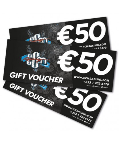 €50 CCM Racing In-store Gift Voucher