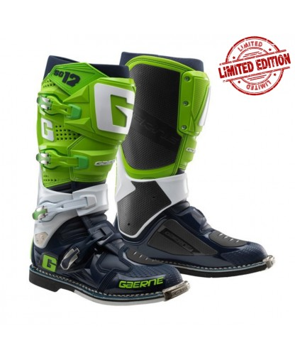 Gaerne SG-12 Limited Edition - Green/White/Navy