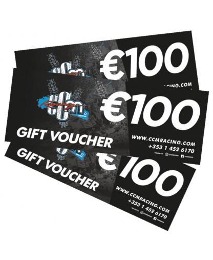 €100 CCM Racing In-store Gift Voucher