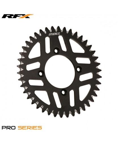RACE FX REAR ELITE SPROCKET 49TH  RM125-250 86-10 RMZ250-450 -04-ON BLK