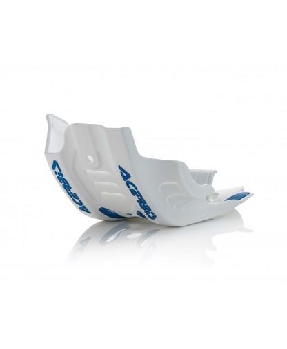 ACERBIS SKID PLATE SXF 450 2016 WHITE/BLUE