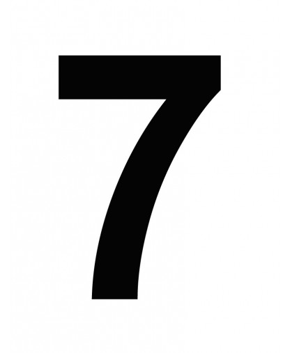 NO.7 SMALL BLK