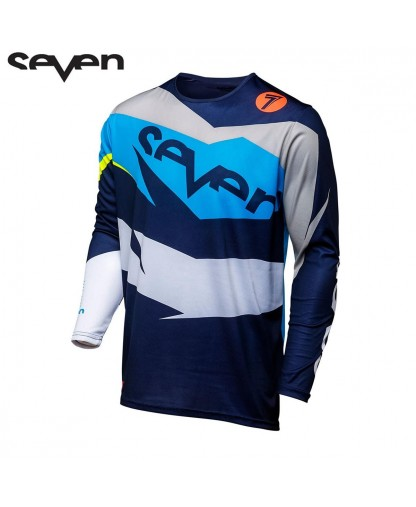 SEVEN MX 18.1 ANNEX IGNITE JERSEY NAVY/CORAL LARGE