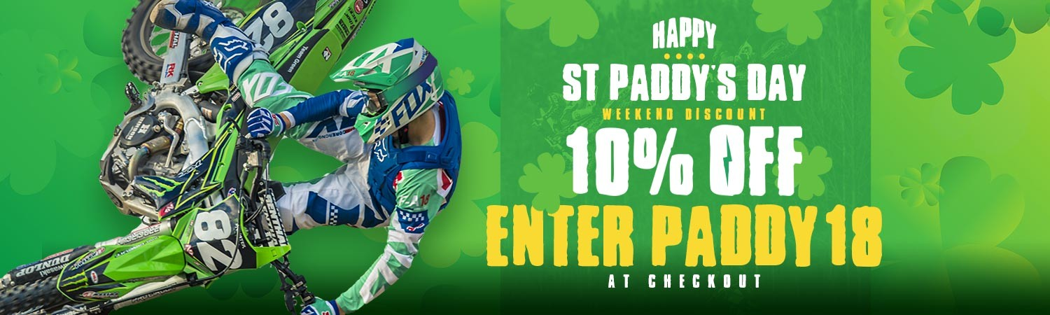 CCMRacing St Paddy's Day Discount